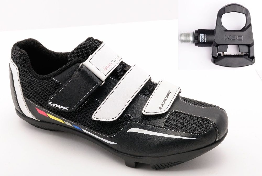 Package Look Chaussures Touring Cyclo + Pédales Easy