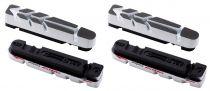 Patins BBB HP Carbone UltraStop BBS-29 blanc&noir - 2 paires