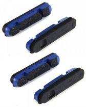 Patins Campagnolo Bleus BR-PEO5001 pour Shamal Mille - 2 Paires Campagnolo