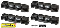 Patins SwissStop Flash Pro Shimano - Original Black (Jante Alu) - 2 Paires