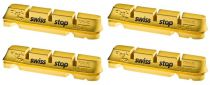 Patins SwissStop Flash Pro Shimano - Yellow King (Jante Carbone) - Paire