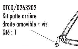 Patte Arrière Look 565/566/585/675