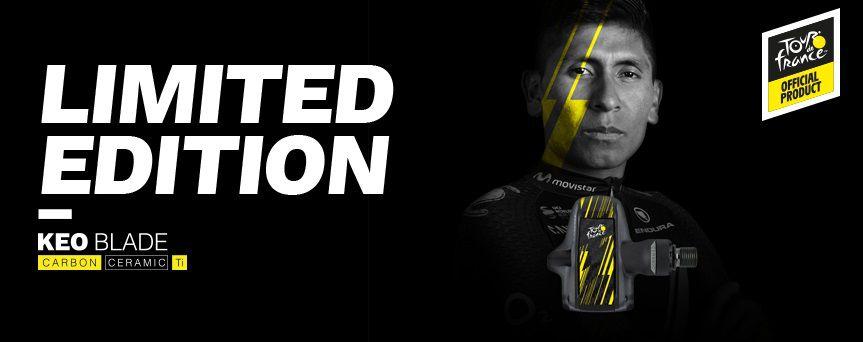 Pédales Look Keo Blade Carbon Ti Céramique Tour de France