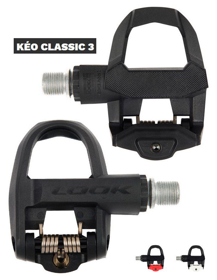 Pédales Look Keo Classic 3 + Cales