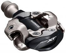 Pedales Shimano VTT XT M8100 SPD Noir + Cales