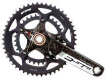 Pedalier FSA Team Issue Evo 5 Carbone BB386 Compact - Sans Roulements
