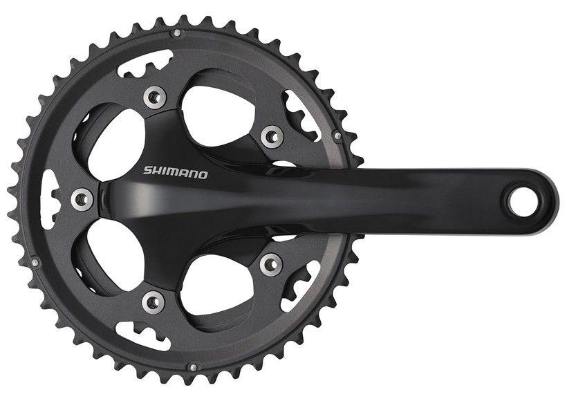 Pédalier Shimano CX-50 Cyclo-Cross Noir sans Cuvettes