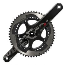 Pedalier Sram Red 22 Yaw GXP Compact Carbone 11v sans Cuvettes