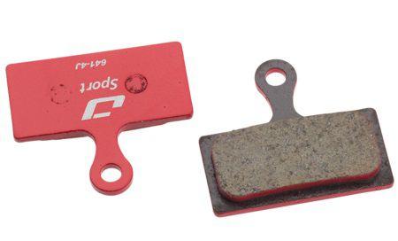 Plaquettes Frein Disque Jagwire BWD2003 Red pour Shimano XTR M985-M785 SLX M666-M675 - Paire