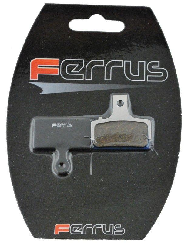Plaquettes Frein Disque Semi-Métallique Ferrus Shimano 2012/2015