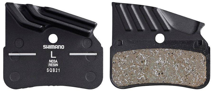 Plaquettes Frein Disque Shimano N03A Resine
