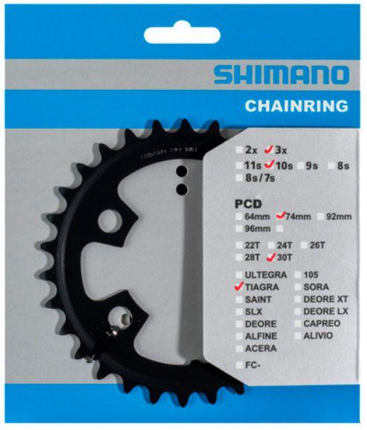 Plateau Shimano Tiagra 4703 Triple 74mm