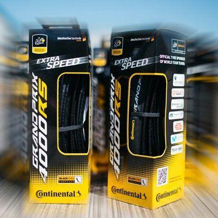 Pneu Continental GP 4000 RS II Tour de France Noir - 700x25