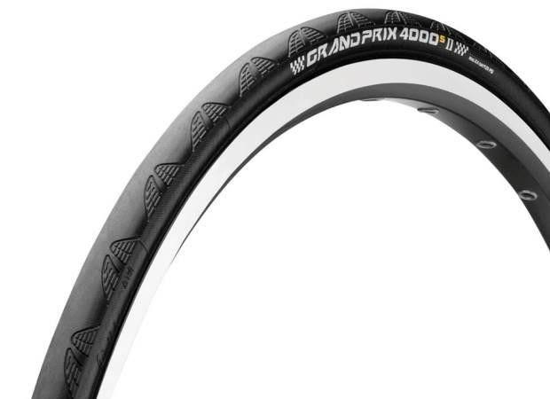Pneu Continental GP 4000 S II - 700x20 - Noir/Noir