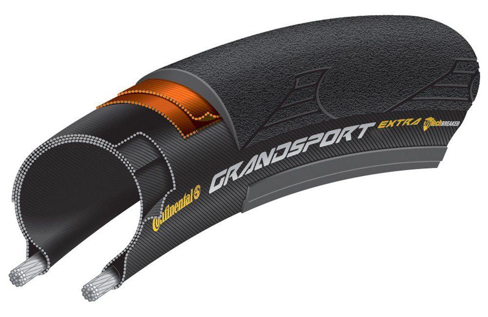 Pneu Continental Grand Sport Extra Noir - 700x25 - Promo