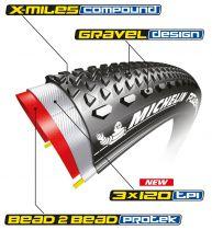 Pneu Michelin POWER Gravel Tubeless Ready 700x40