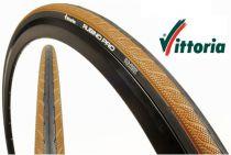 Pneu Vittoria Rubino Pro III 700x23 Black/Honey - 150 Tpi - Promo