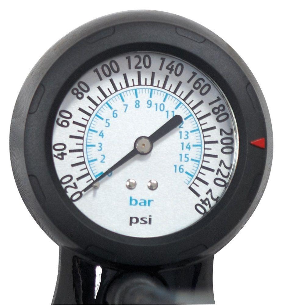 Pompe à Pied Force Workshop Alu - 16.5 bars