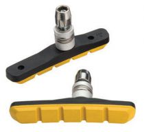Porte Patins Jagwire V.Brake Mountain Sport BWP5006 Jaunes Complets - Paire