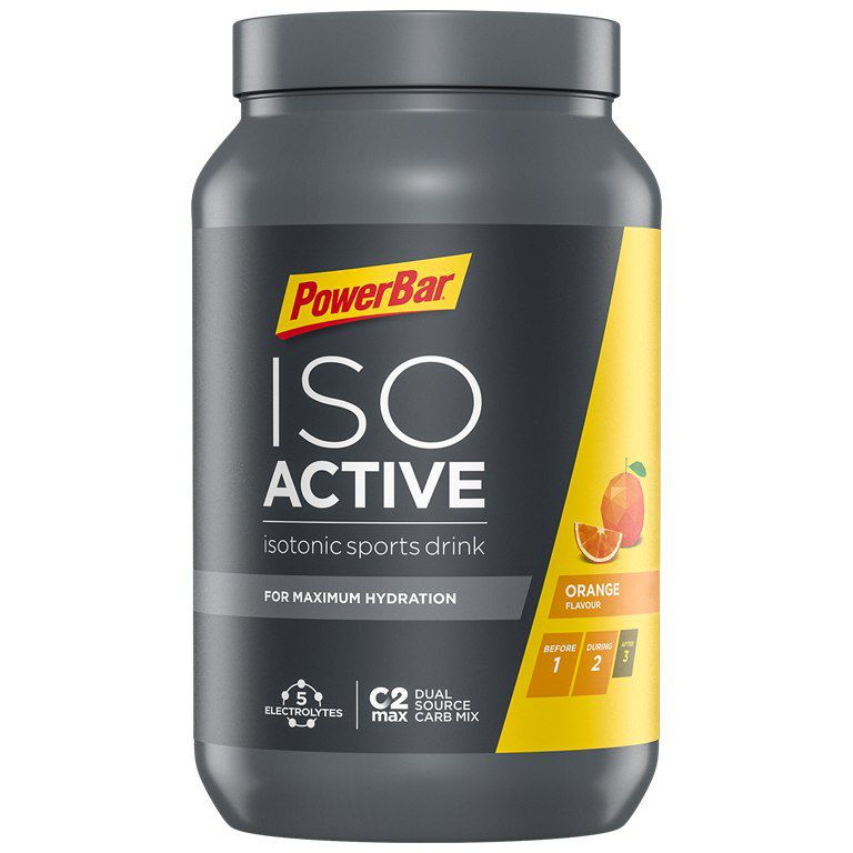 Pot 1320gr PowerBar Poudre Isoactive Drink
