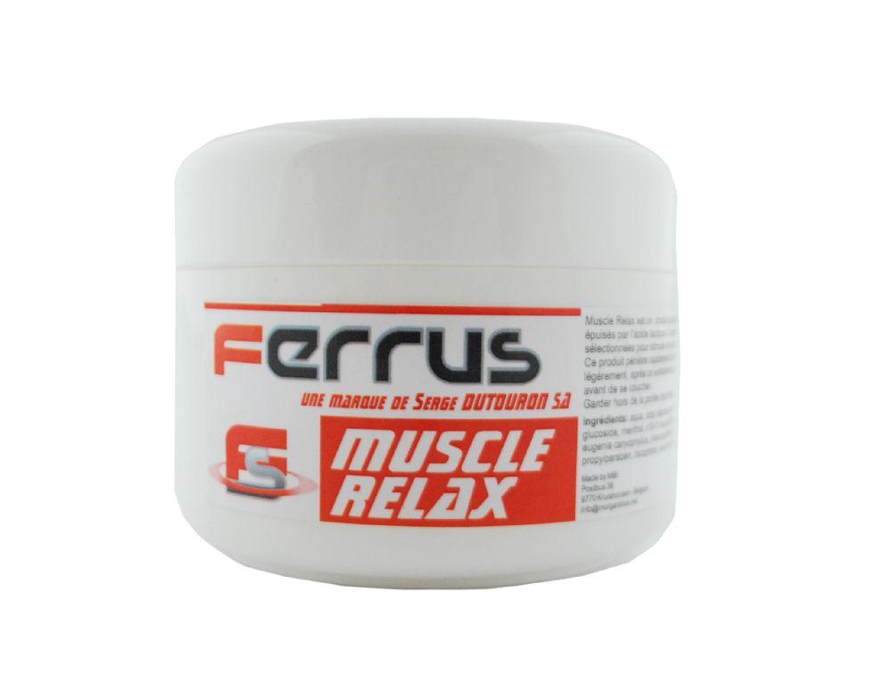 Pot 200cc Ferrus Gel Muscle Relax Récupération des Muscles Fatigués