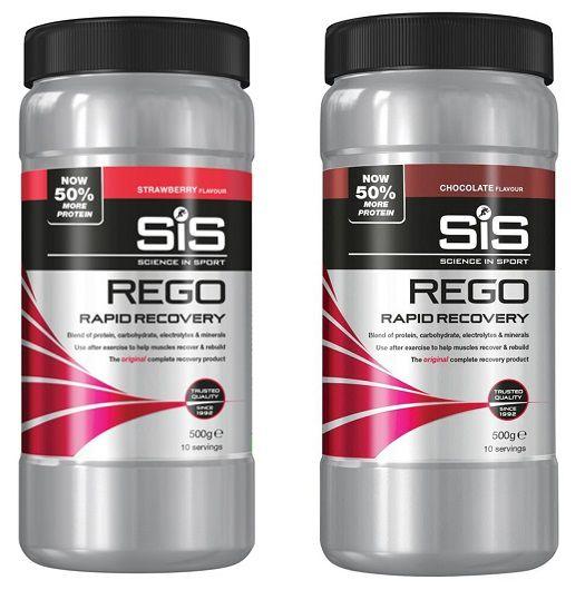Pot 500g SIS Rego Rapid Recovery - Boisson Récupération à Diluer
