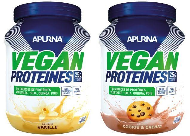 Pot 660g Poudre Apurna Vegan Protéines