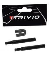 Prolongateur Valve Trivio Noir - Kit de 2 Réf. TRV-TI