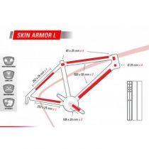 Protection de Cadre Zefal Skin Armor L