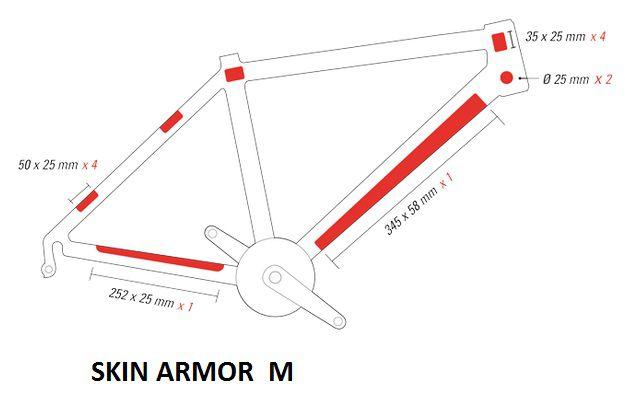 Protection de Cadre Zefal Skin Armor