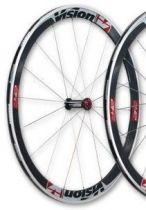 Roue Avant Vision - FSA - T42 Carbone Stickers Blancs