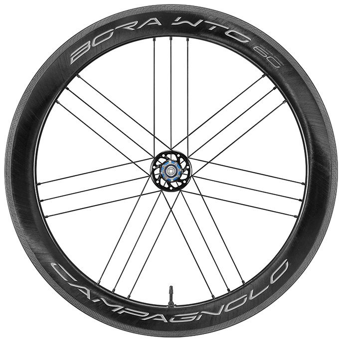 Roues Campagnolo Bora WTO 60 Carbone Patins - Réf. WH19-BOWTOFR60
