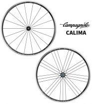 Roues Campagnolo Calima C17 Pneus