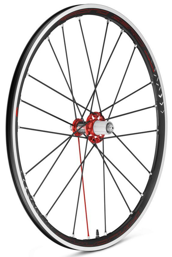Roues Fulcrum Racing Zero Competizione C17 2-Way-Fit Noir/Rouge