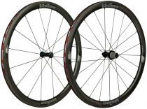 Roues Vision Trimax Carbone 40 LTD Pneus