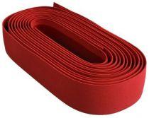 Ruban de Guidon Velo Suede 2.5mm Rouge - sans Bouchons