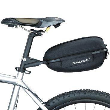 Sacoche Cyclo Topeak DynaPack Rigide - 4L + Extension sur Tige Selle