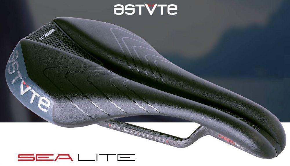 Selle Astute Sea VT Dame Rails Carbone