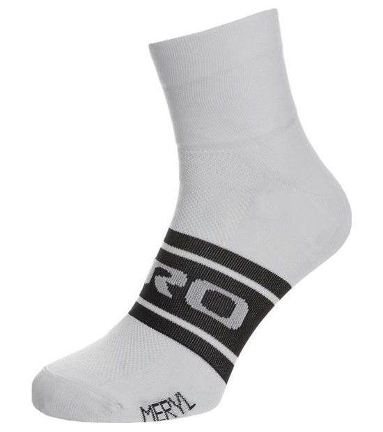 Socquettes Giro Classic Blanc/Noir