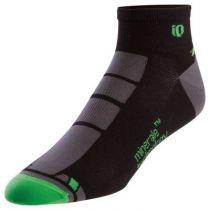 Socquettes Pearl Izumi Pro Low Sock 3TC Noir/Vert