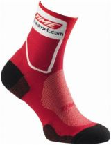 Socquettes Time Ulteam Max Coolmax/Climawell Rouge/Blanc