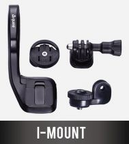 Support Décalé Guee I-Mount pour Garmin + Support Caméra GoPro