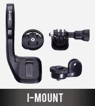 Support Décalé Guee I-Mount pour Garmin + Support Caméra GoPro