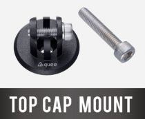 Support Guee Top Cap Mount pour Eclairage/Caméra GoPro