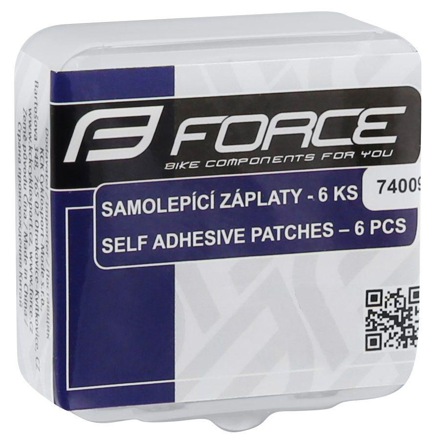 Trousse Réparation Force 6 Patchs Autocollants