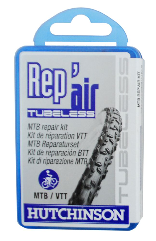 Trousse Réparation Hutchinson Rep`Air Tubeless VTT