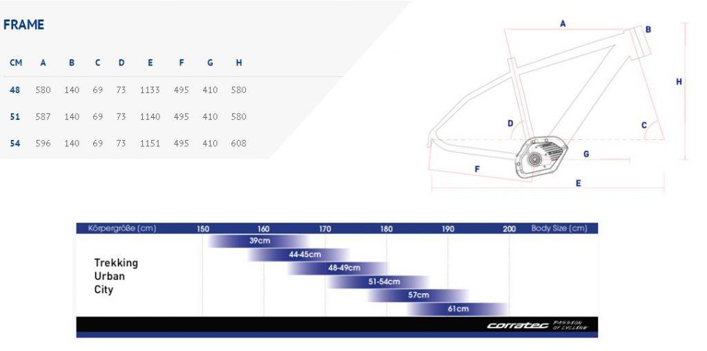 VAE Corratec E-Power 29 Trekking 45km/h