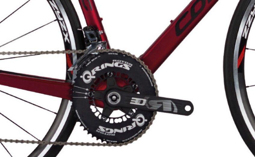Vélo Corratec CCT Team Carbon Ultegra - Roues Corratec ZZYZX