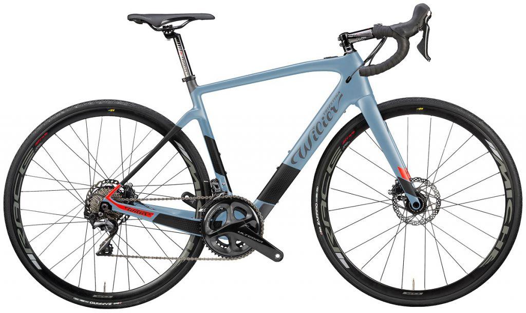 Vélo Electrique Wilier Cento1 Hybrid Shimano Ultegra R8020 Disc - Roues Miche Race
