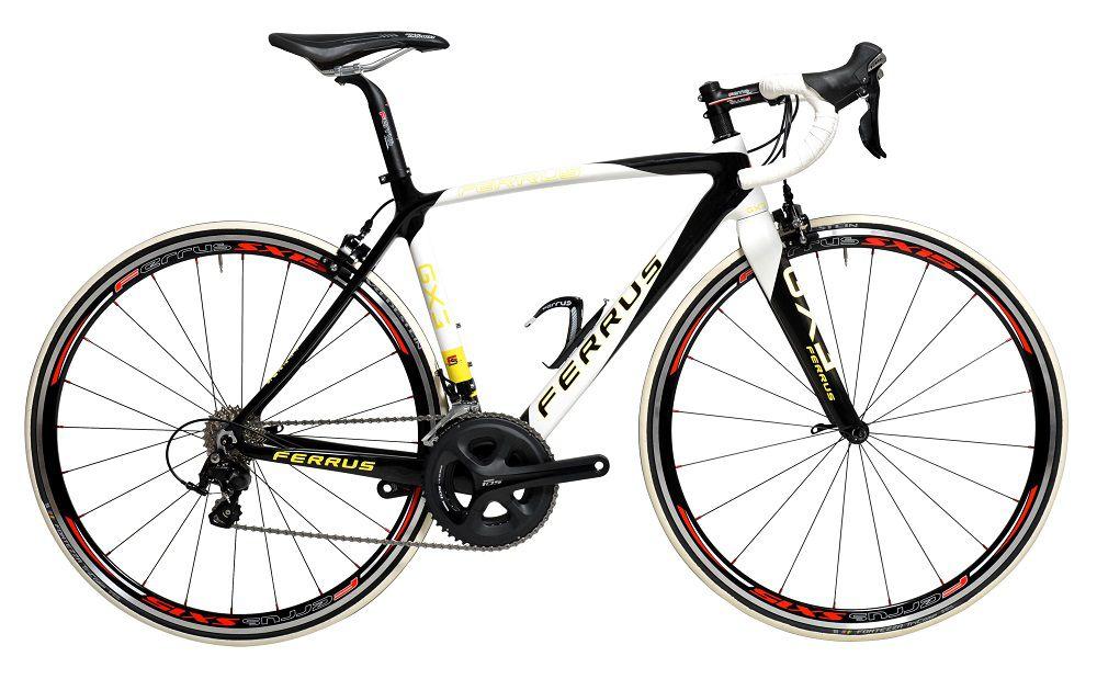 Vélo Ferrus GX3 Jaune - Shimano 105 5800 - 11v